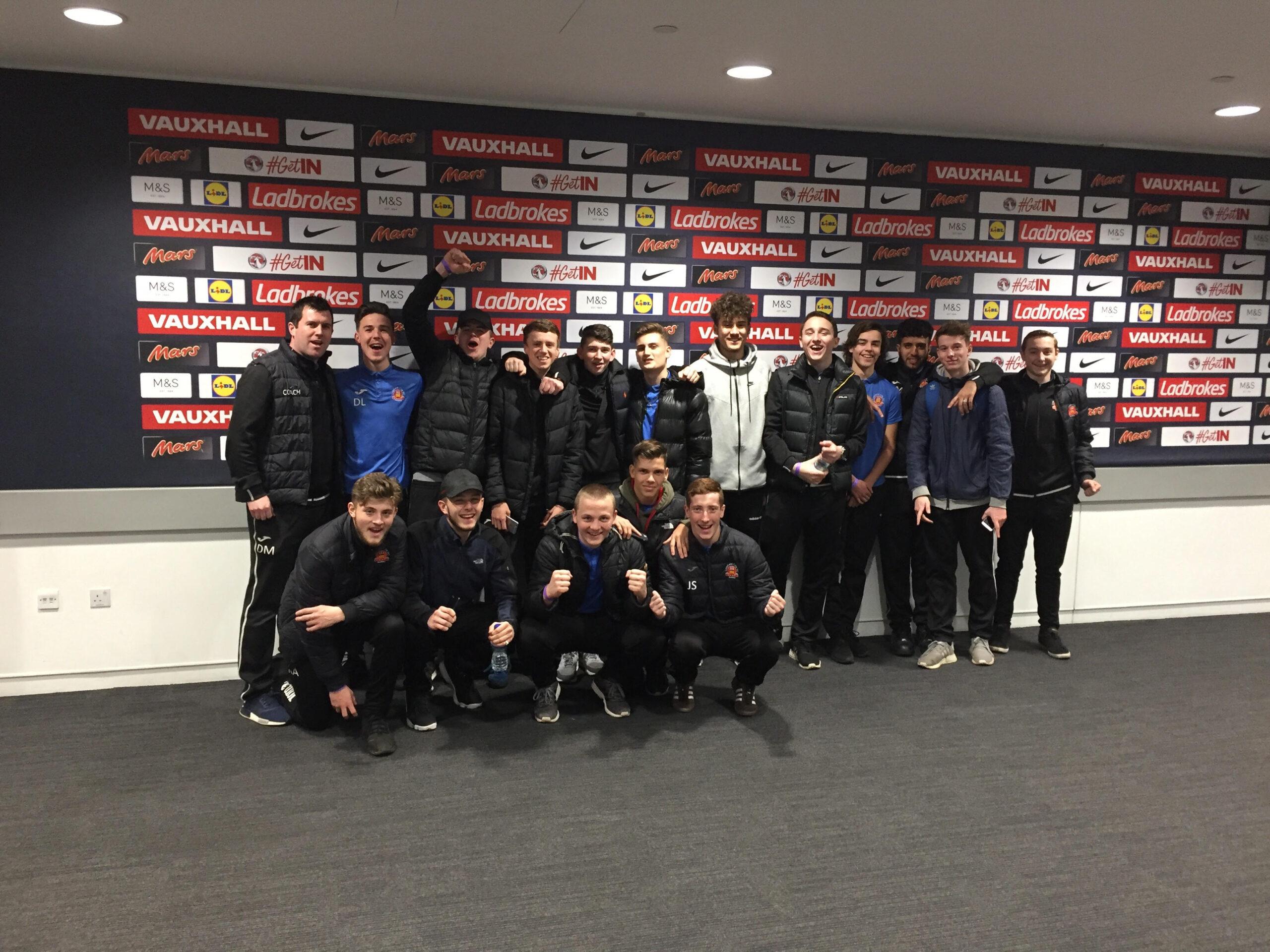 Lichfield City Football Club Academy - Visit Wembley