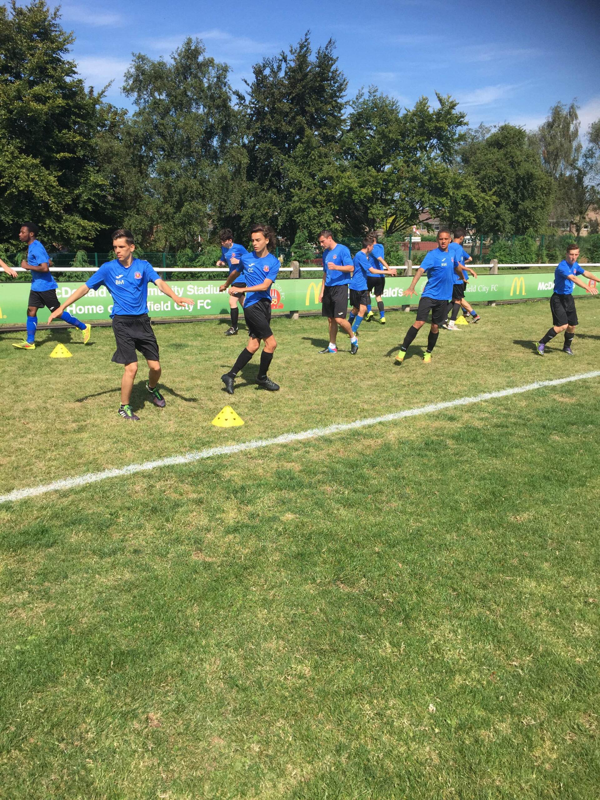 Lichfield City Football Club Academy - The Academy Students
