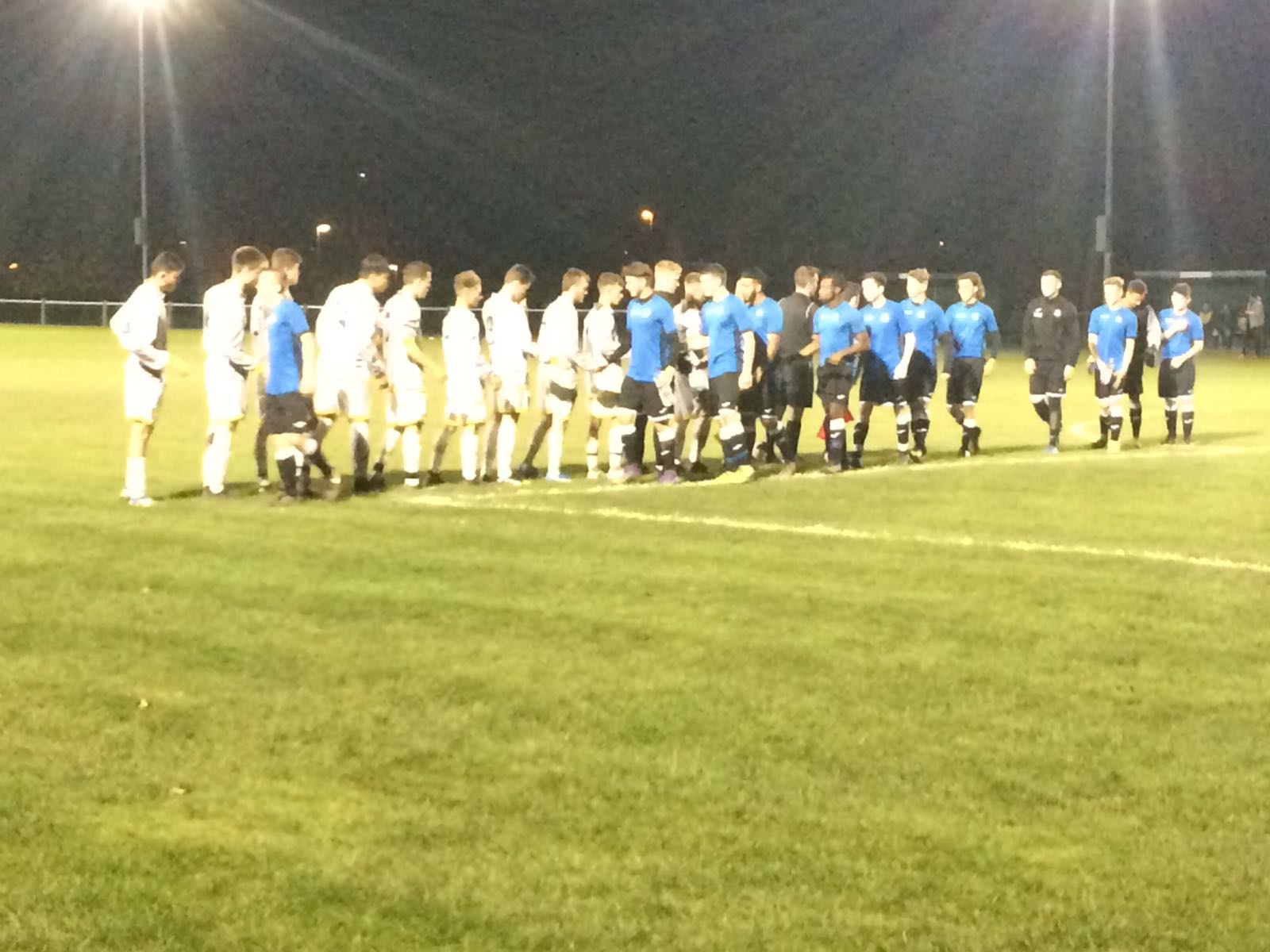 Lichfield Academy beating Burton Albion 4-1