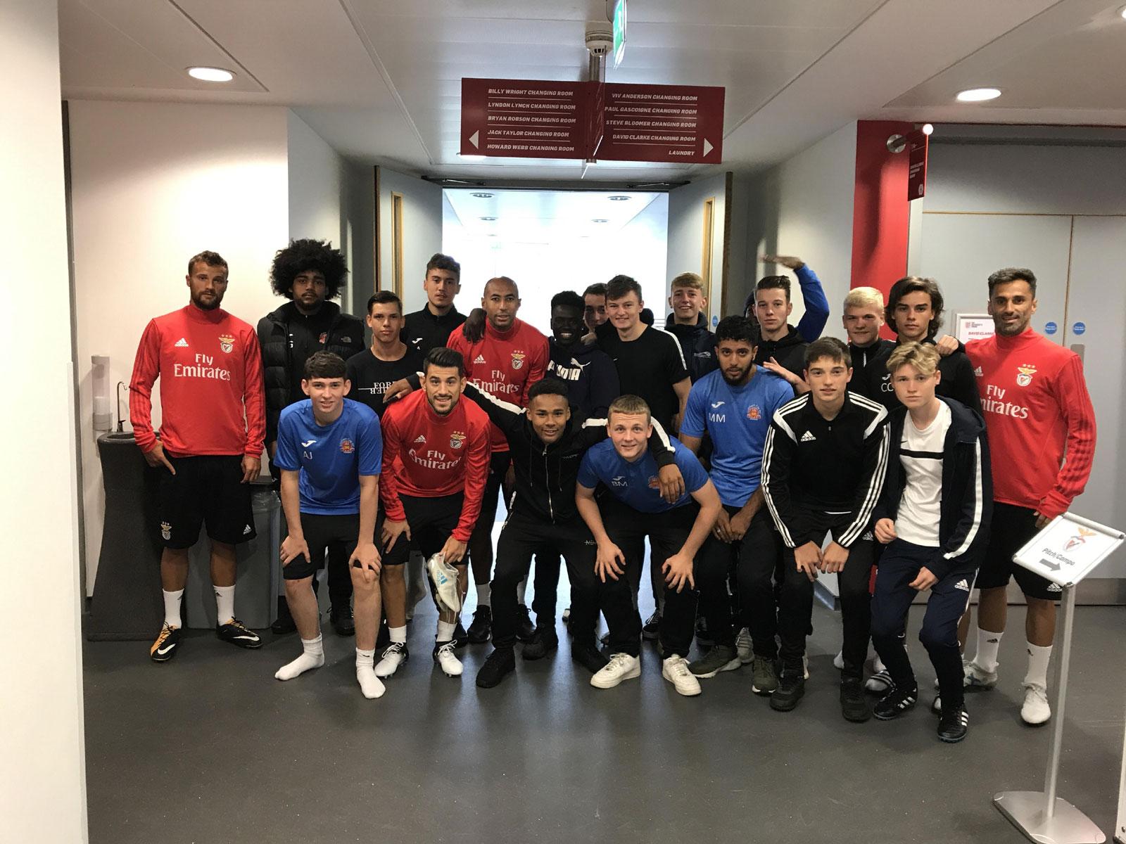Lichfield City FC Academy enjoying pre-season