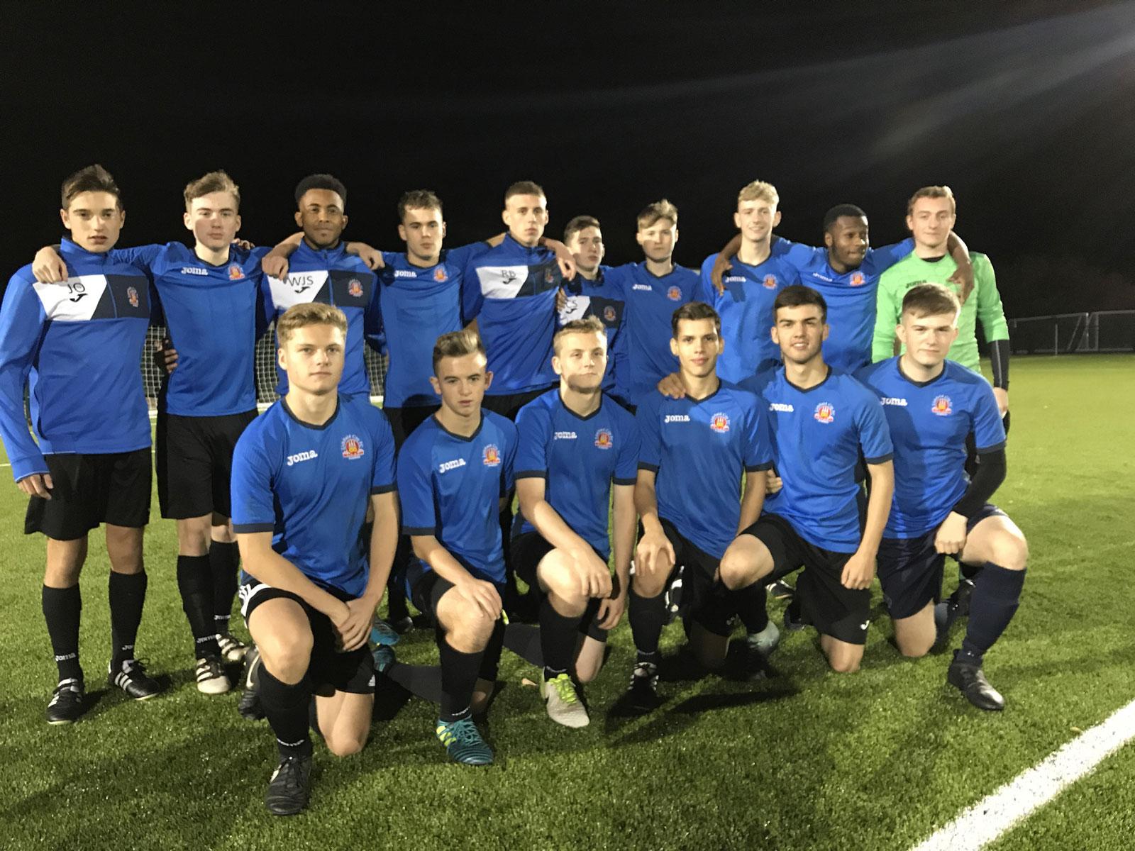 Lichfield City Academy- v Hednesford Town FC
