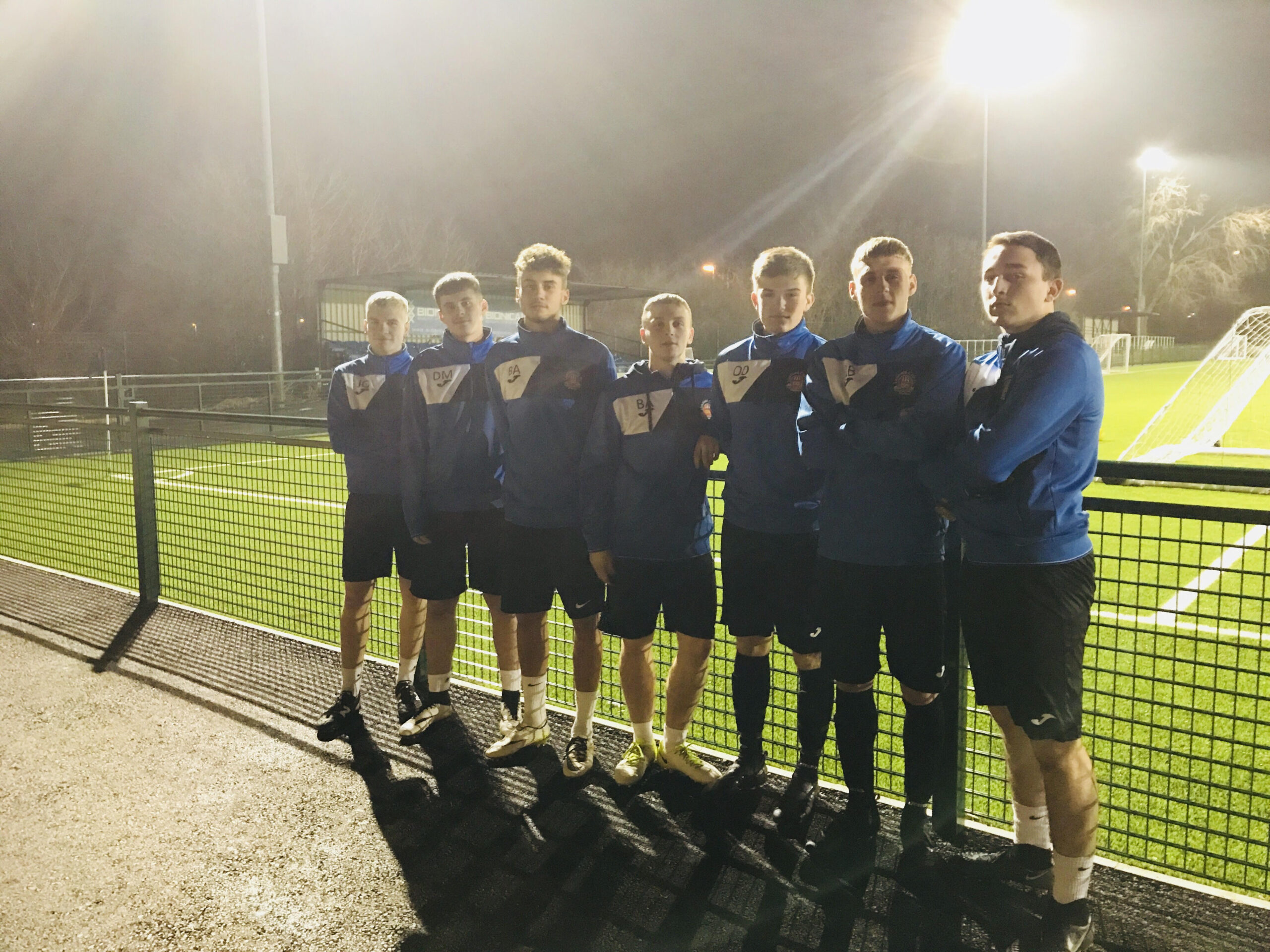 Lichfield City Academy 1st teamers