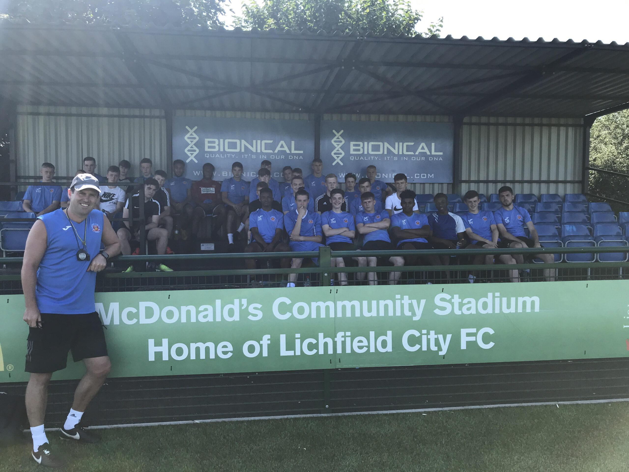 Lichfield City Academy-Pre season