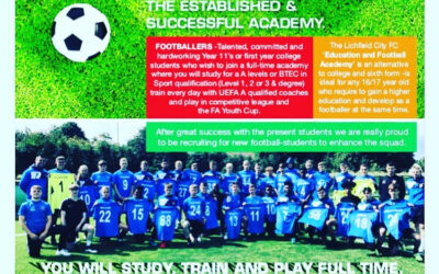 Lichfield Academy -NEW PLAYERS OPEN DAY FEB HALF TERM