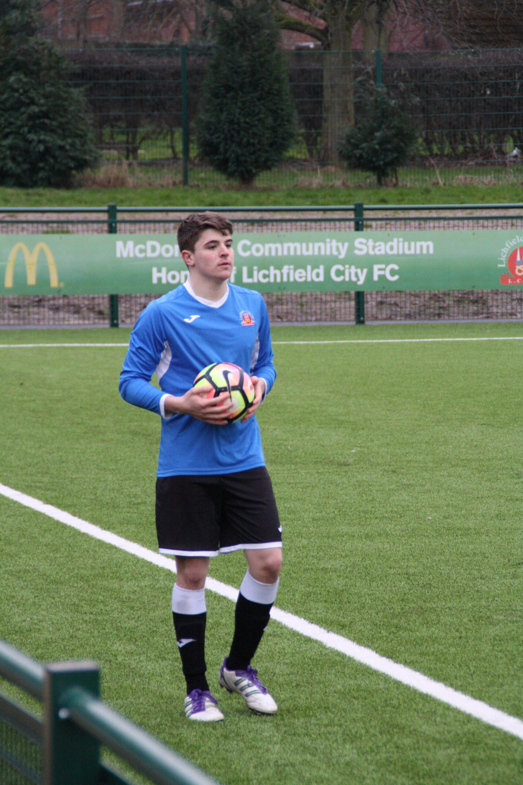 Lichfield City Academy baller Jacob