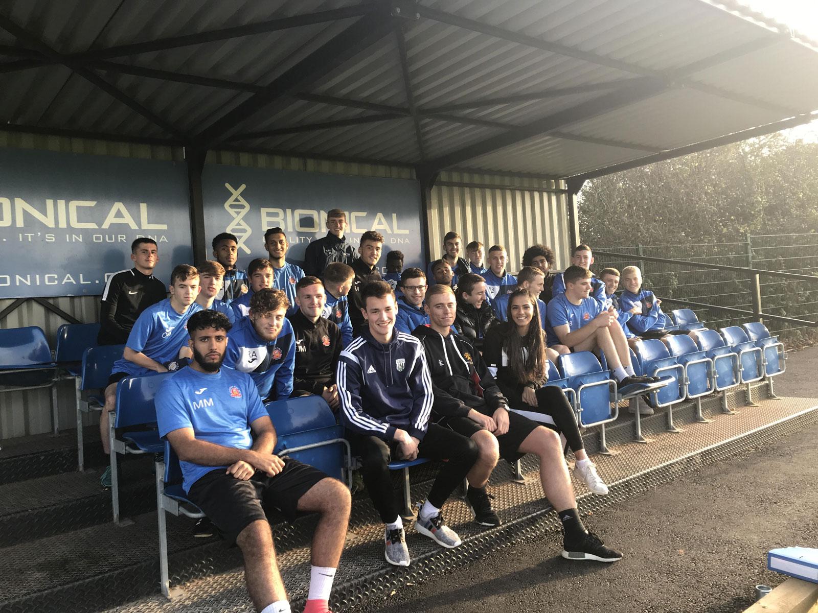 Lichfield City Football Academy-Training