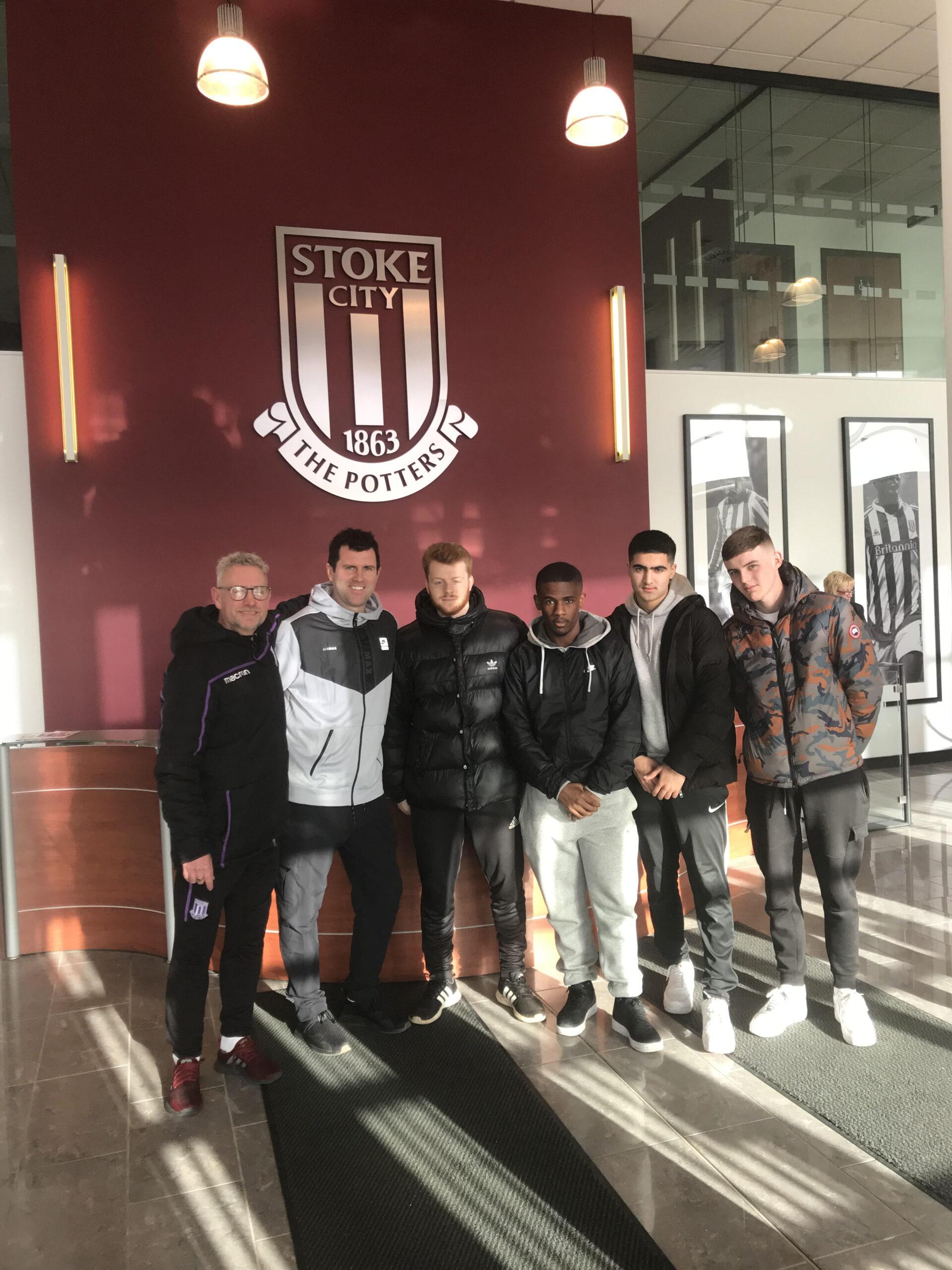 Lichfield City -Stoke City