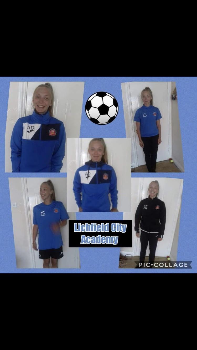 Lichfield city Academy New recruit
