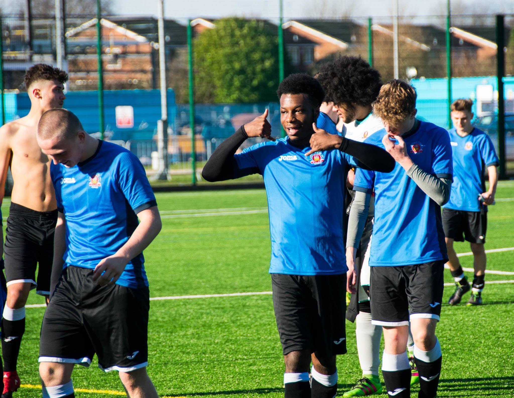 Lichfield City Academy Student Jordon hits 30 goals